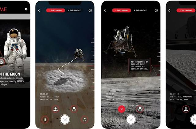 Time says its AR depiction of Apollo 11 is the 'most accurate' yet
