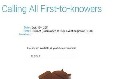 Samsung and Google's Ice Cream Sandwich event is tomorrow -- get your liveblog here!