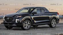 Projeção: Hyundai Santa Cruz chegará em 2020 como picape do Tucson