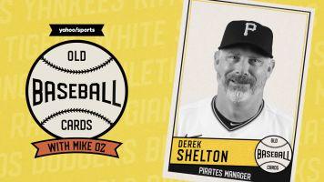 Old Baseball Cards: Pirates skipper Derek Shelton