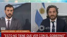 El tenso cruce de Santiago Cafiero y Diego Leuco por la muerte de Fabián Gutiérrez