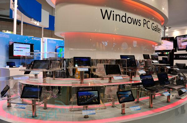 Microsoft reveals Windows Embedded Compact 7 at Computex, hosts heaps of tablets