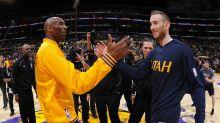 Kobe Bryant shares words of encouragement for Gordon Hayward after horrific injury