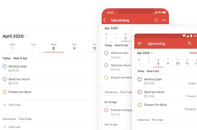 Todoist's latest feature helps you better organize upcoming tasks