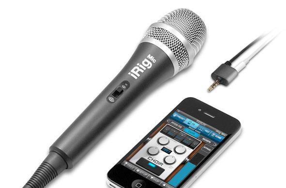 iRig Mic: because your iPad, iPhone and iPod just aren't complete sans a microphone
