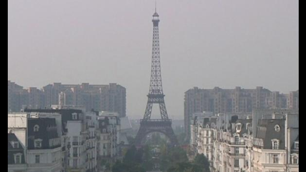 Little Paris recreated in China