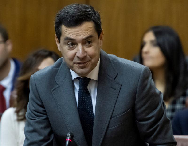 Presidente De La Junta De Andalucía Expresa Condolencia Por Muerte