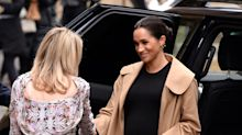 Meghan Markle Sports Killer $300 Dress On 1st Public Outing Of 2019