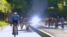 Tour de France - Les coureurs flashés par un radar en direct sur France 2 ! (VIDEO)