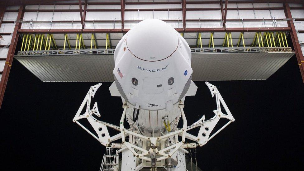 Nasa SpaceX launch: Astronaut crew primed for 'routine' flight