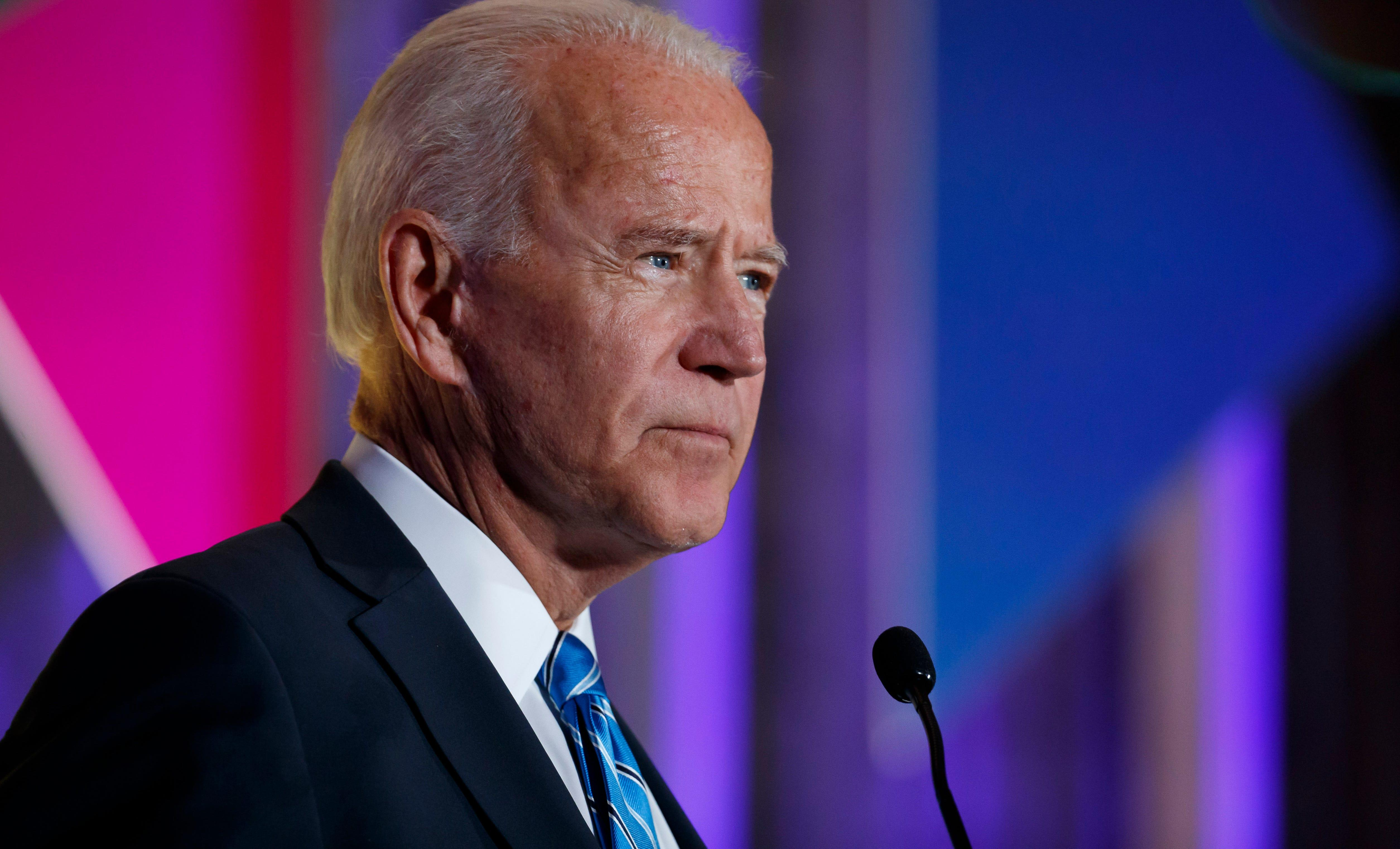 Joe Biden comes out against 'defund the police' push amid mounting attacks from Trump after George Floyd protests