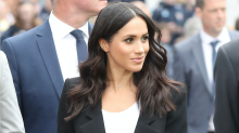 Duchess of Sussex suits up for second outfit of the day in Ireland