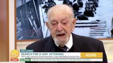 'Good Morning Britain' viewers heartbroken as D-Day veteran breaks into tears