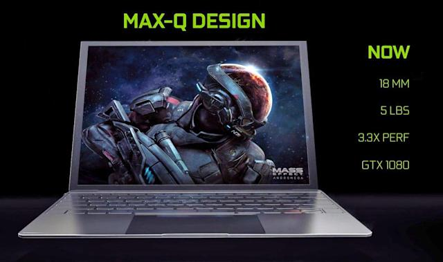 NVIDIA 'Max-Q' gaming laptops are Ultrabooks with GTX 1080 power