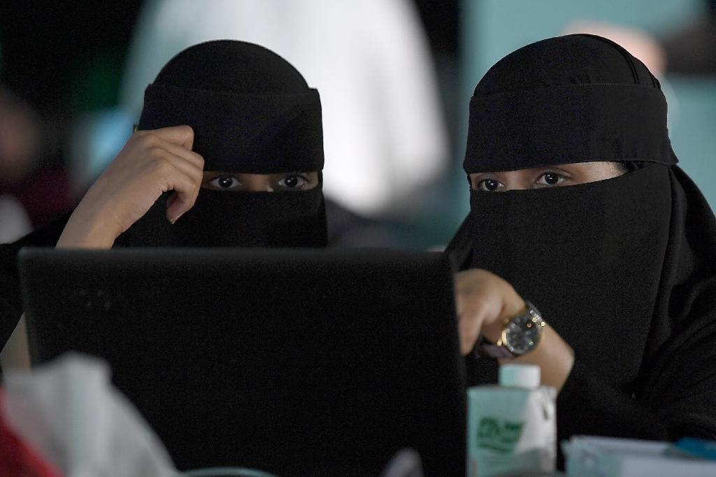 Saudi Arabia faces longstanding criticism over the male guardianship system which allows men to exercise arbitrary authority over their female relatives (AFP Photo/Amer HILABI)