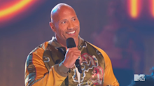 Dwayne Johnson shares message of inclusion and kindness during MTV acceptance speech