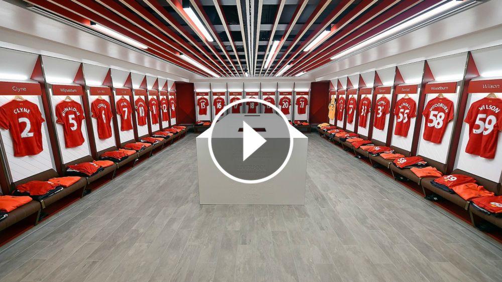 VÍDEO: El Liverpool presenta sus nuevos vestuarios