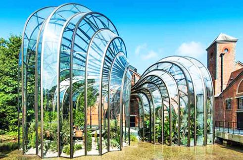 Inhabitat's Week in Green: jewel-like greenhouses, solar planes and a space elevator