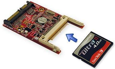 CompactFlash-based SSDs get tested