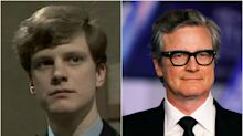 Colin Firth, antes y después de convertirse en el 'gentleman' de Hollywood