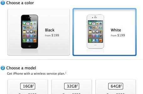 """Apple lists iPhone 4S as """"in stock"""" in most online stores"""
