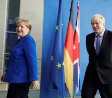 Germany's Merkel gives Britain 30 days to find last-minute Brexit solution
