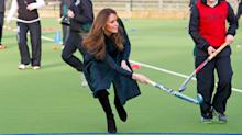 Royals Keep it Chic Playing Sports