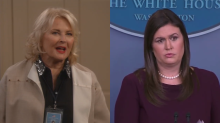 'Murphy Brown' slams Sarah Sanders the day after confrontational press briefing