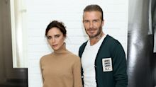 Victoria Beckham leads celebrities marking Father's Day with throwback holiday snap of David