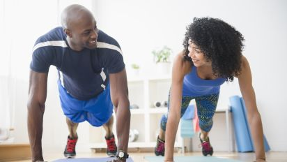 Working out together could improve your relationship
