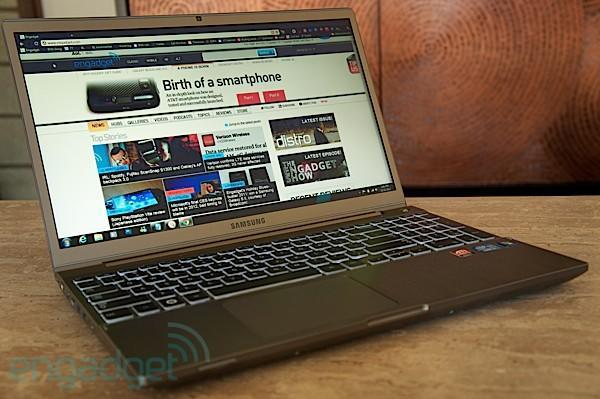 15-inch Series 7 Chronos with Ivy Bridge surfaces on Samsung's Canadian site