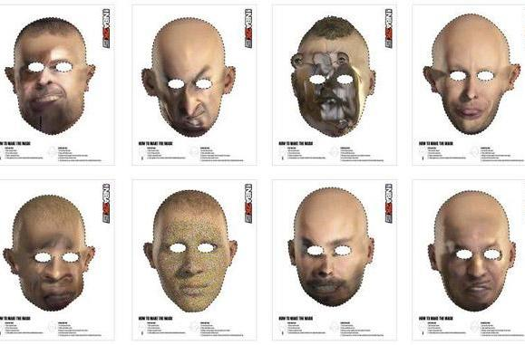 NBA 2K15 face scan nightmares are now Halloween masks