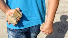 This school is supplying rocks for students to throw at any shooters: 'They will be stoned'