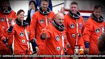 Scott Kelly Boards Space Station For 1-Year Mission