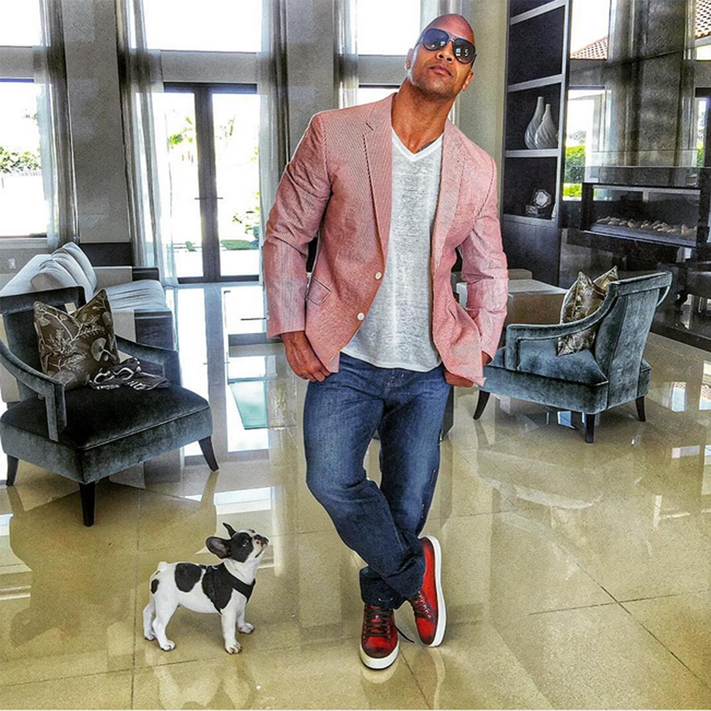 Sexiest Man Alive Dwayne The Rock Johnson Has Man S Best