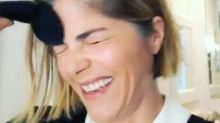 Selma Blair Praised for Candidly Sharing Her Makeup Application Struggles While Battling MS