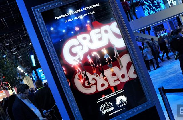 Intel Studios shows off volumetric video capturing with 'Grease'