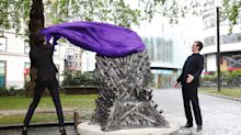 Iron Throne lands in Leicester Square to mark 'Game of Thrones' 10th anniversary