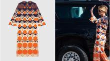 Así es el vestido de 3.000 euros con el que Melania Trump ha inaugurado su nueva vida