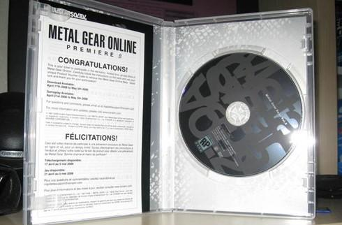 MGS4 pre-order DVDs shipping with MGO beta keys, beta to begin April 21