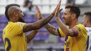 Messi makes more history with first 20-20 season
