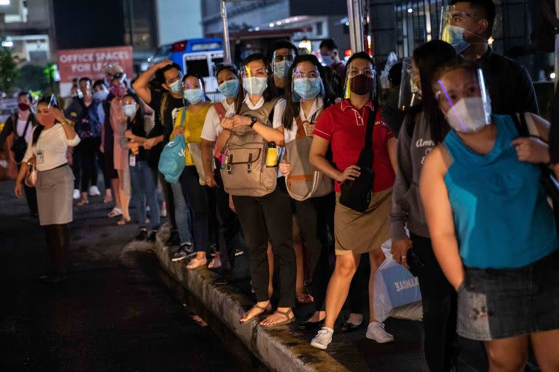 Philippines confirms 2,180 new coronavirus infections, 36 deaths