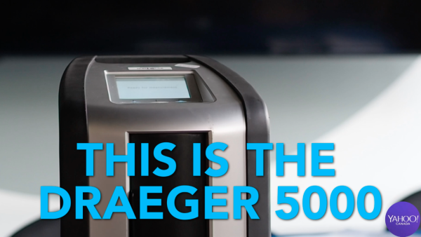 The maker of the Draeger 5000 device defends it