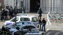 Knifeman kills three at French church, ratcheting up terror fears