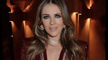 Elizabeth Hurley wears plunging red dress in Morocco and fans are obsessed: 'Simply stunning!'