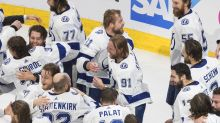 Lightning lift Stanley Cup in capping NHL's marathon season