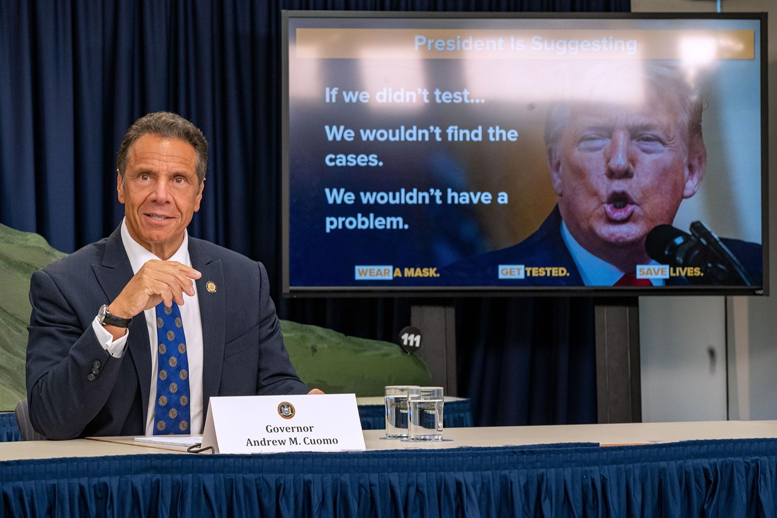 Commentary: Gov. Cuomo's cringeworthy COVID victory lap
