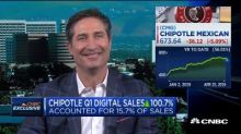 Chipotle CEO talks Q1 earnings, digital sales, new loyalty program