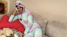 Los pijamas de las famosas durante la cuarentena
