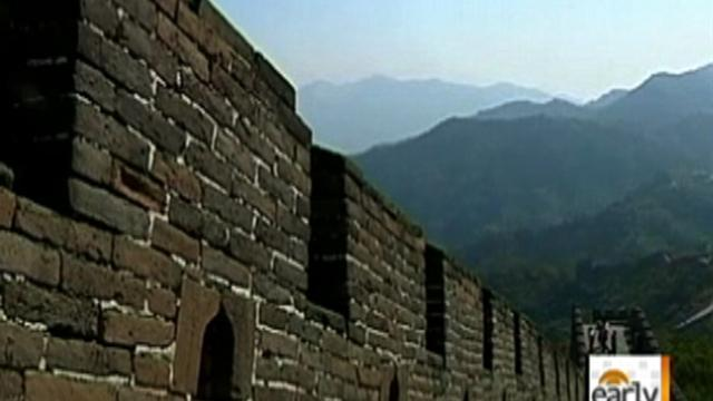 Great Wall of China crumbling due to mining